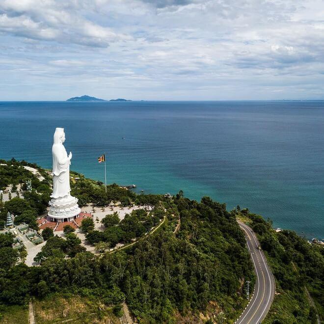 chùa Linh Ứng trên Bán đảo Sơn Trà