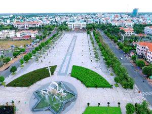 Quảng trường Hùng Vương Bạc Liêu