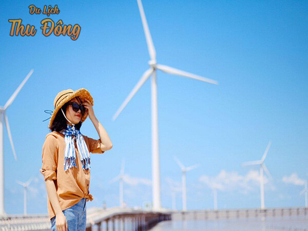 Hướng dẫn Cách đến cánh đồng điện gió bạc liêu