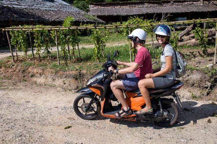 Mướn xe máy du lịch Phú Quốc