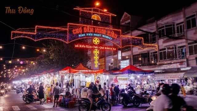 chợ đêm Cần Thơ