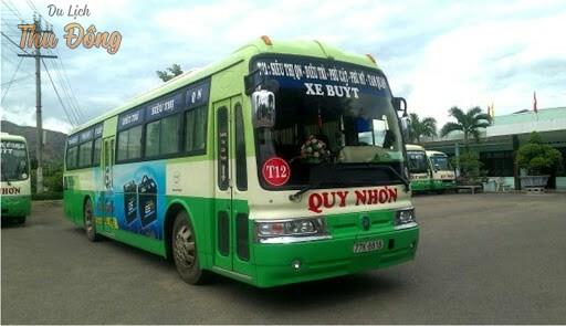Tham quan Quy Nhơn bằng xe bus