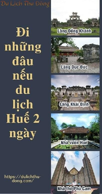 2 ngày ở Huế