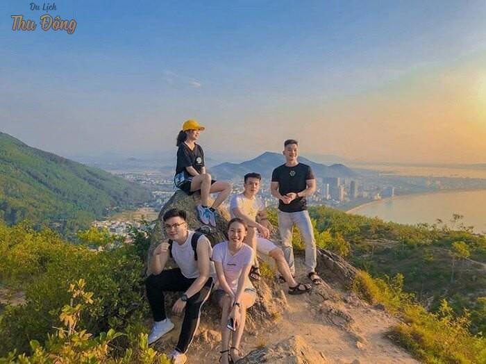 Núi Xuân Vân từ trên cao