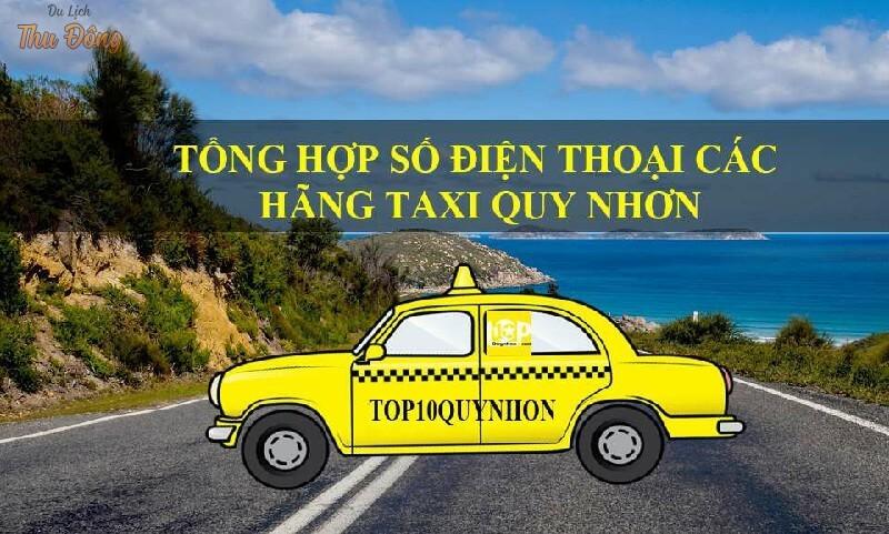 Du lịch Quy Nhơn bằng Taxi
