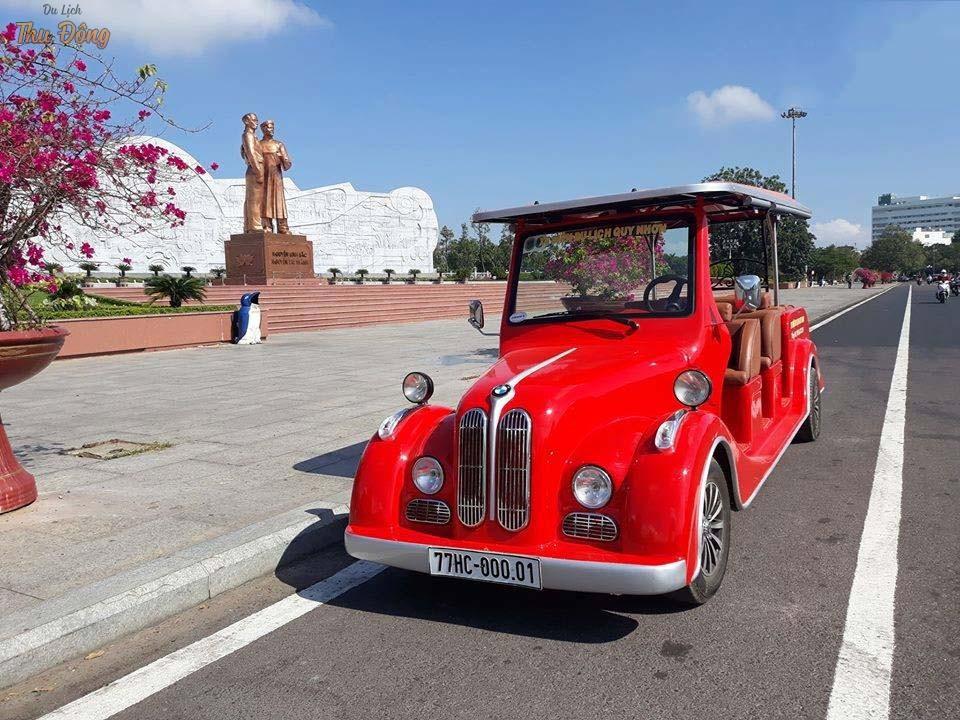 Báo Giá mượn xe ô tô tham quan có tài Quy Nhơn theo lịch trình đi