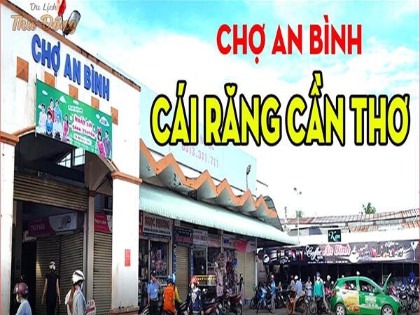 Cách đi chợ nổi Cái Răng từ bến Ninh Kiều
