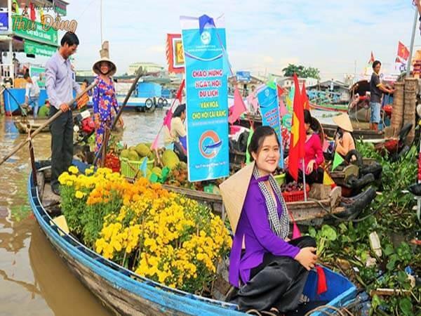 Lễ hội ở chợ nổi Cái Răng