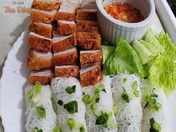 Bánh hỏi heo quay Phong Điền