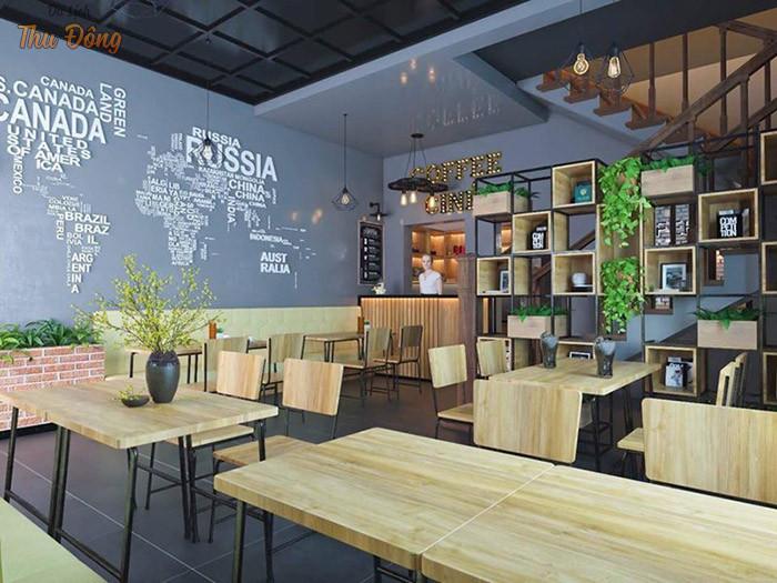 Khu vực uống nước tạo quán cafe Paradise