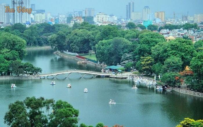Cuối tuần bé nên đến công viên Thủ Lệ ở Hà Nội