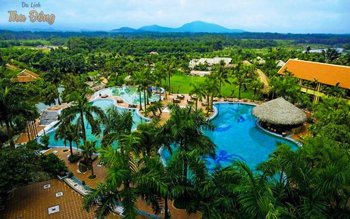 Khung cảnh thiên nhiên tại Asean Resort