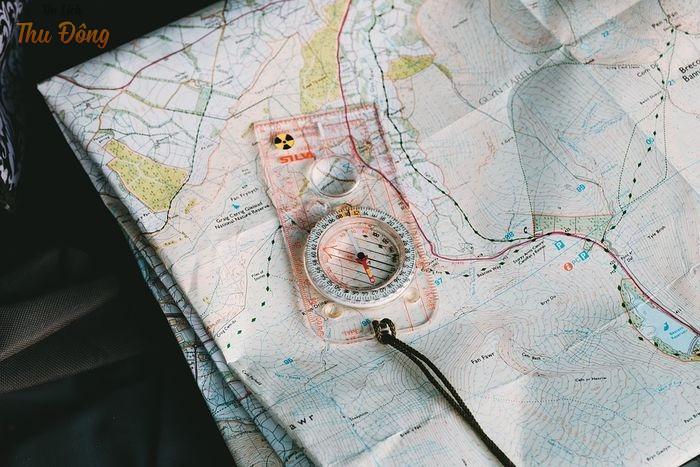 Dự phòng một tấm bản đồ giấy khi đi Hà Giang