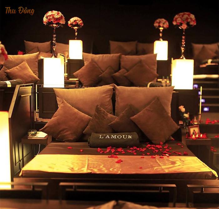 Rạp chiếu phim L'amour mang đến cho khách hàng chất lượng dịch vụ tốt nhất