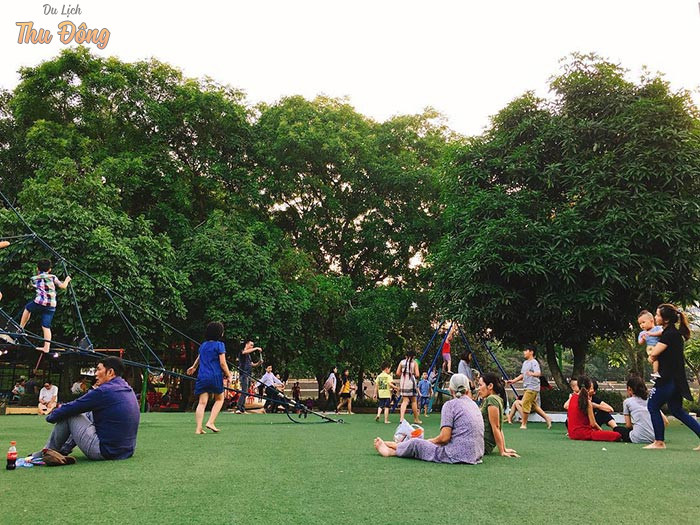 Các hoạt động vui chơi, giải trí tại công viên