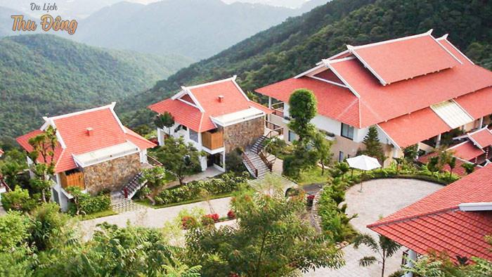 Khung cảnh tuyệt vời của khu nghỉ dưỡng gần Hà Nội