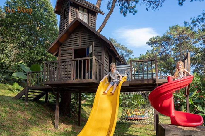 Khu vui chơi trẻ em được thiết kế tại khu nghỉ dưỡng