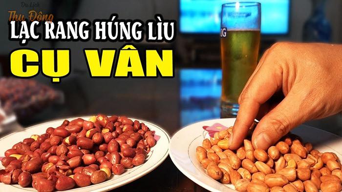 Lạc rang húng lìu cụ Vân là thương hiệu lạc rang uy tín nhất tại Hà Nội