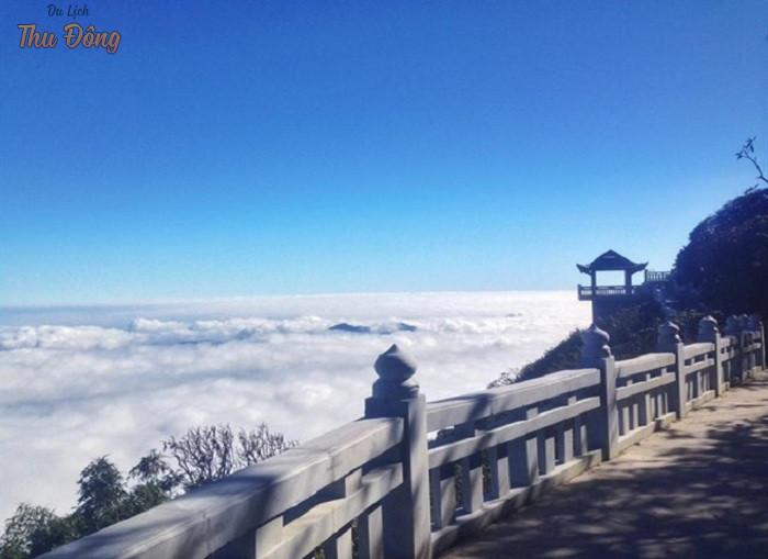 Săn mây ở núi Hàm Rồng