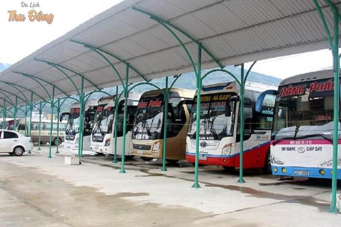 Có rất nhiều nhà xe chạy đến Hà Giang từ khắp các tỉnh thành