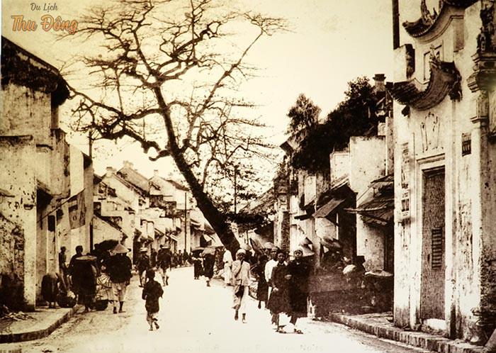 Hình ảnh phố cổ Hà Nội thuở xưa