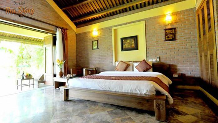 Tiện ích phòng tại khu nghỉ dưỡng gần Hà Nội