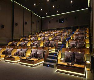 Quy mô rạp chiếu phim với sức chứa dành cho nhiều đối tượng