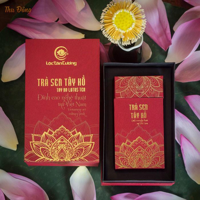 Trà sen Tây Hồ - sự tinh túy ẩn chứa trong từng tách trà