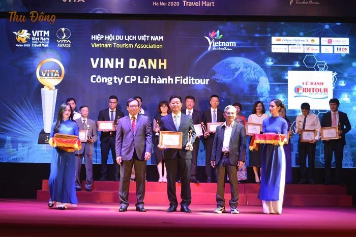 Được Hiệp Du lịch Việt Nam vinh danh
